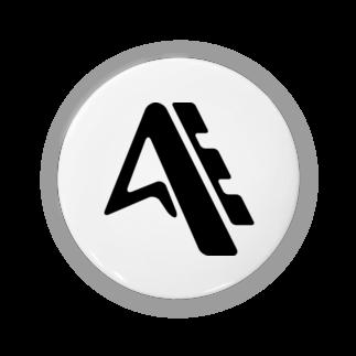 奥山 義徳のスポーツメーカー風のロゴ缶バッジ