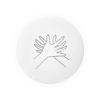 かにの手 Tin Badge