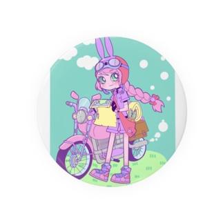 旅するウサギちゃん Badges