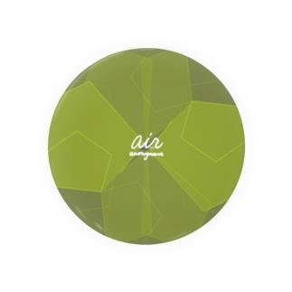 air 2021 green edition Badge