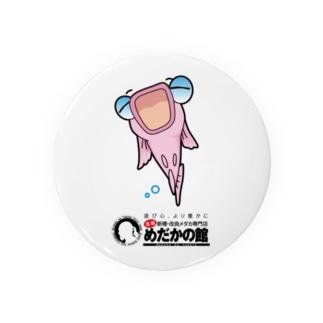 ピンクメダカの秋桜ちゃん Tin Badge