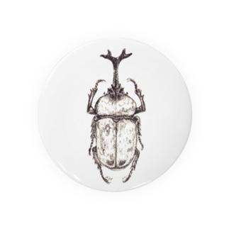 beetle Tin Badge