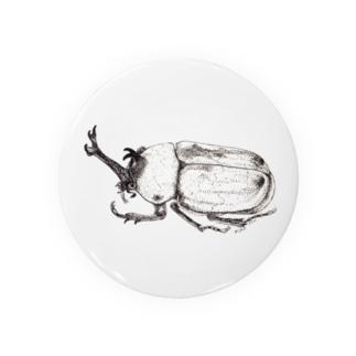 beetle2 Tin Badge