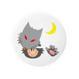 人狼(キュートテイスト) Badge