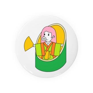武竹取物語(ぶたけとりものがたり) Badge
