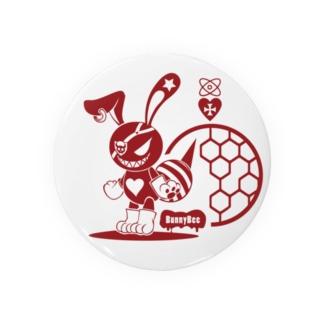 バニービー・アイパッチ/レッド Badges