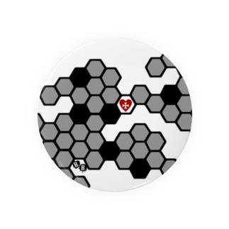 兎蜂の巣。 Badges