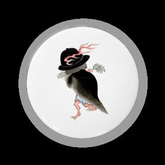 和もの雑貨 玉兎の百鬼夜行絵巻 釜の付喪神(鳴釜)【絵巻物・妖怪・かわいい】 Badges