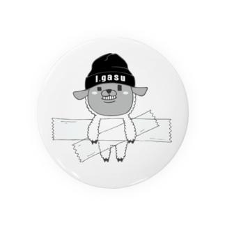 I.gasu sheep【アイガス】 Badges