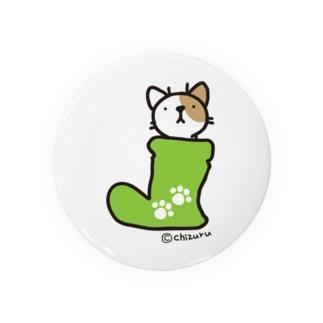ネコとながぐつ 缶バッジ