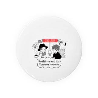 スガヌマショウコデザイン Badges