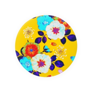 Colorful Rose (Yellow) 缶バッジ