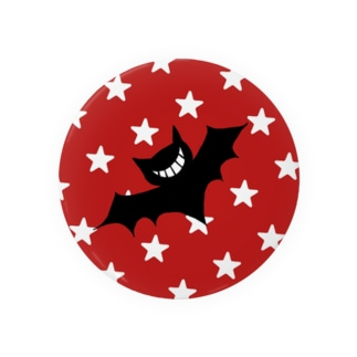 ニヒコウモリ(星柄) Badges
