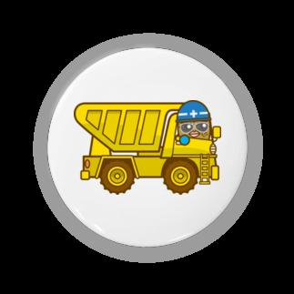 コメビツくんのゴブヅキくんのダンプカー Badges