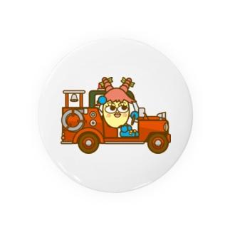 コメビツくんのミルキーさんのポンプ車 Badges
