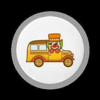 コメビツくんのタンゴくんのスクールバス缶バッジ
