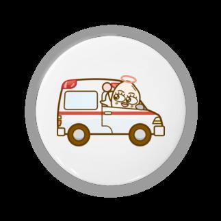 コメビツくんのトキメキさんの救急車 Badges