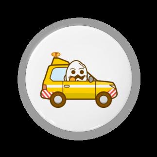 コメビツくんのモチゴメくんのハイウェイパトカー Badges