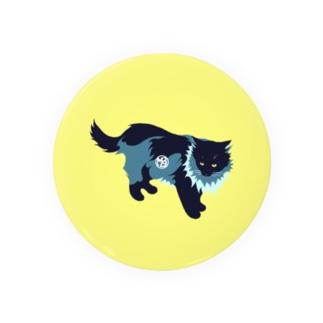 たてがみのある猫の缶バッジ  Badges