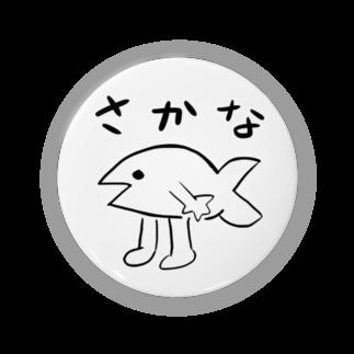 ぽん猫@SUZURI店のふつうのさかな Badges