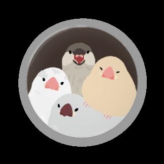 subacoの世界の巣窓から(ひなみっちり)  缶バッジ