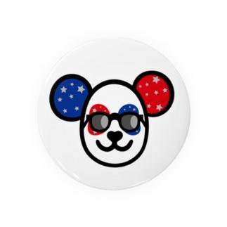 愛の覆面パンダ Badges