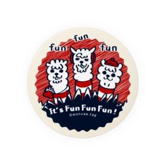 It'FunFun.Fun【C】75mm缶バッチ用  缶バッジ