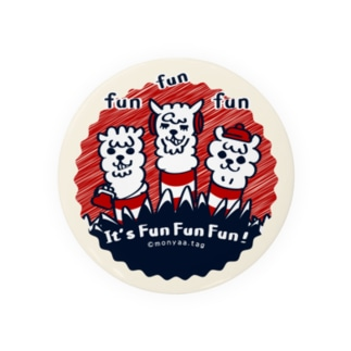 It'FunFun.Fun【C】75mm缶バッチ用  Badges