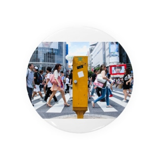 渋谷の交差点 缶バッジ