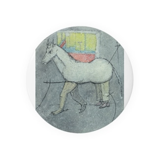 a wrong horse 缶バッジ