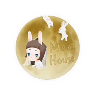 Moon House 缶バッジ Badges