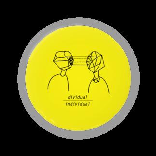 yukino kayaharaのdividual/individual 缶バッジ