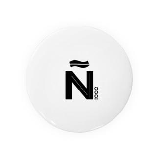 Ñiooo 缶バッジ