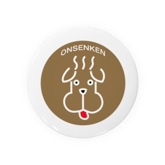 温泉犬 Badges