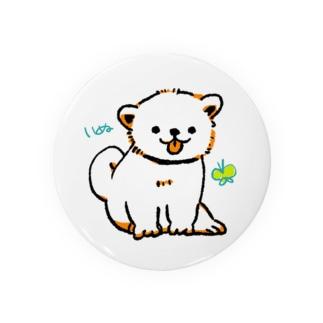 雑種のわんこ シロ Badges