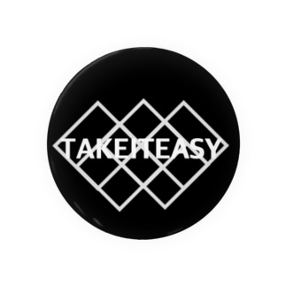 TAKE IT EASY 缶バッジ