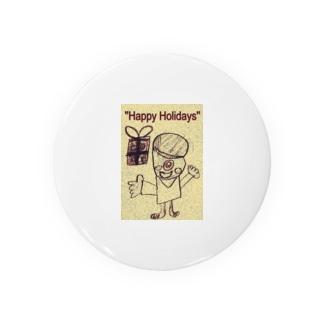 おばけ君のプレゼント Badges
