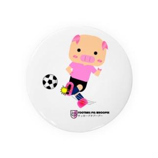 サッカーブタブーブーNo.1 Badges