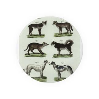 1802年ドイツの犬たち Badges
