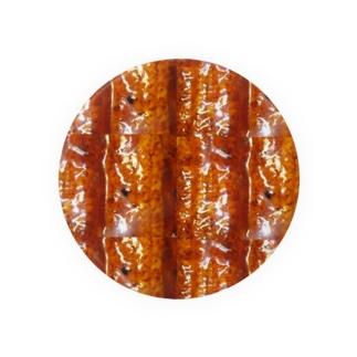 うなぎの蒲焼きタイル Badges