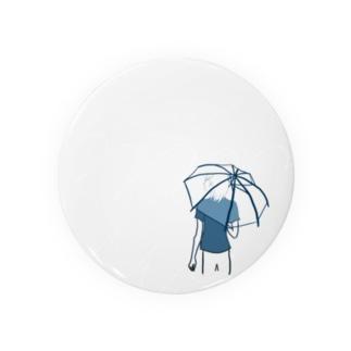 雨ふり Badges