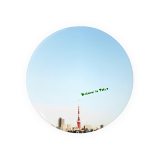 Welcome to Tokyo(Green) 缶バッジ