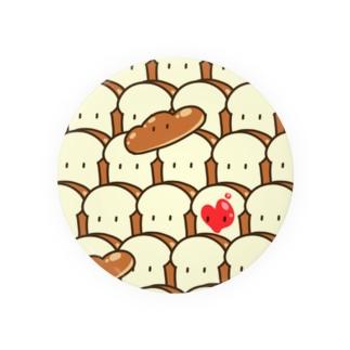 ズッキュンなパン 缶バッジ