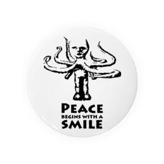蛸男の微笑み Badges