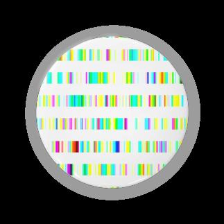 レオナのColor Bars Badges
