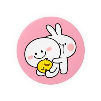 Spoiled Rabbit / あまえんぼうさちゃん 缶バッジ