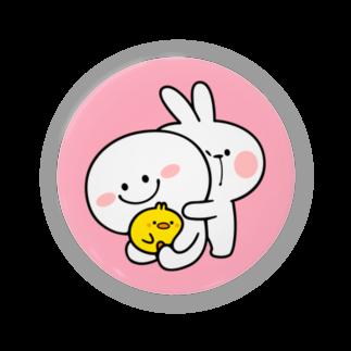AKIRAMBOWのSpoiled Rabbit / あまえんぼうさちゃん Badges