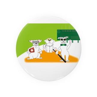 犬とベースボールのガンバgoods 缶バッジ