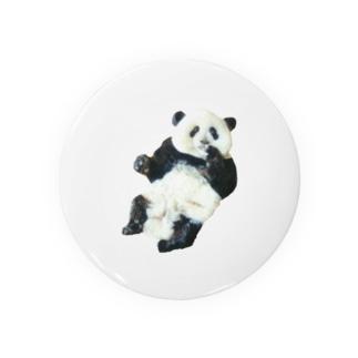 ふわふわパンダ Badges