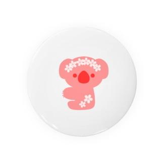 さくらピンクなコアラ Badges